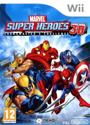 Marvel Super Heroes 3D : Grandmaster's Challenge sur Wii