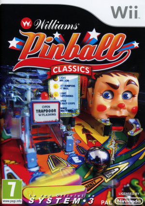 Williams Pinball Classics sur Wii