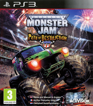 Monster Jam : Path of Destruction sur PS3