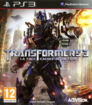 Transformers 3 : La Face Cachée de la Lune sur PS3