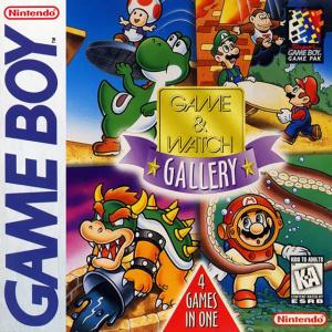 Game & Watch Gallery sur GB