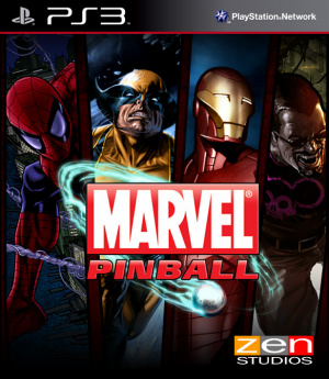 Marvel Pinball sur PS3