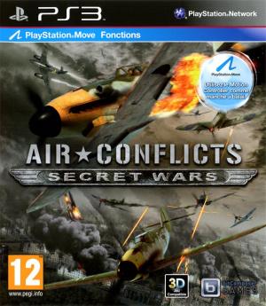 Air Conflicts Secret Wars sur PS3