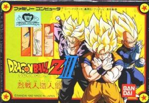 Dragon Ball Z III : Ressen Jinzou Ningen sur Nes
