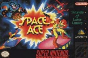 Space Ace sur SNES