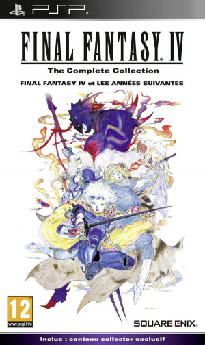 Final Fantasy IV : The Complete Collection sur PSP