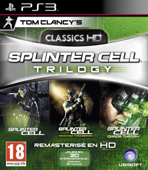 Splinter Cell Trilogy HD sur PS3