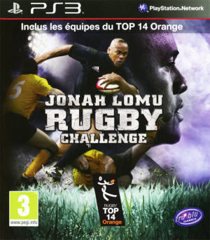 Jonah Lomu Rugby Challenge sur PS3