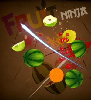 Fruit Ninja sur iOS