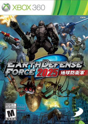 Earth Defense Force 2025 sur 360