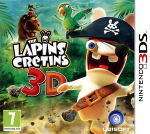 The Lapins Crétins 3D sur 3DS