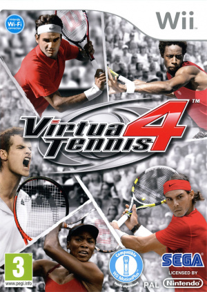 Virtua Tennis 4 sur Wii