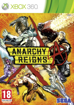 Anarchy Reigns sur 360