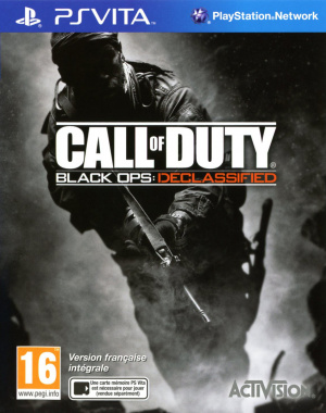 Call of Duty : Black Ops Declassified sur Vita