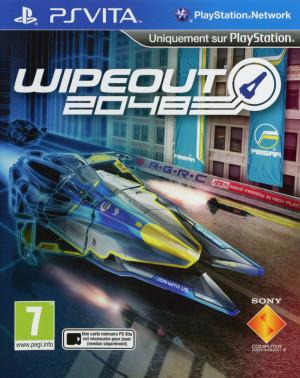 WipEout 2048 sur Vita