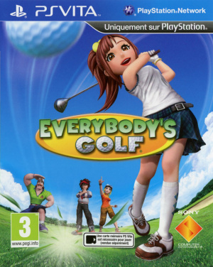Everybody's Golf sur Vita