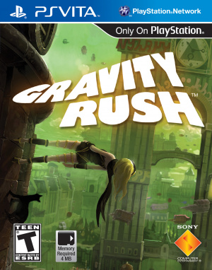 Gravity Rush sur Vita