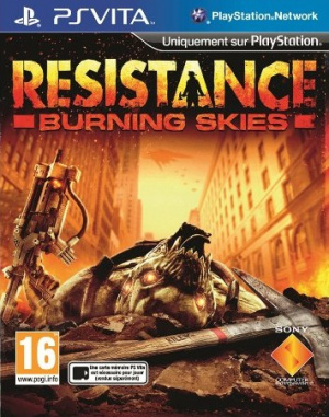 Resistance : Burning Skies sur Vita