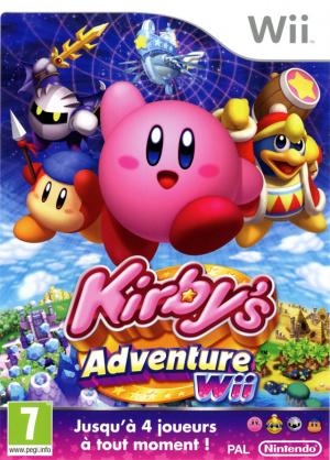 Kirby's Adventure Wii sur Wii