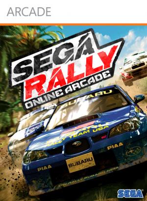 Sega Rally Online Arcade sur 360