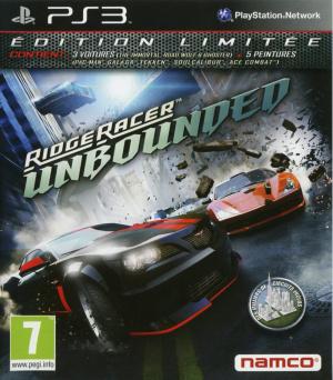Ridge Racer Unbounded sur PS3