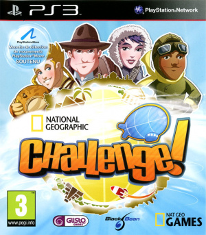 National Geographic Challenge ! sur PS3