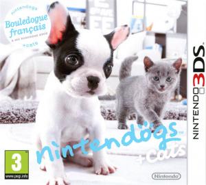 Nintendogs + Cats Bouledogue Français & ses Nouveaux Amis sur 3DS