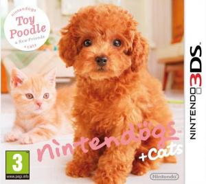 Nintendogs + Cats : Caniche Toy & ses Nouveaux Amis.EUR.3DS-CONTRAST