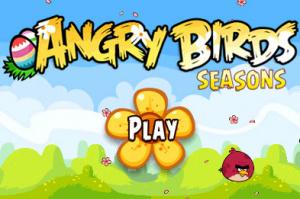 Angry Birds : Seasons sur iOS
