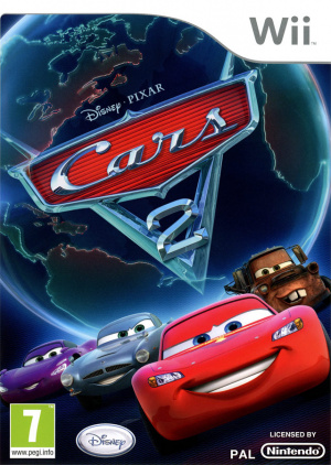cars 2 sur wii. Black Bedroom Furniture Sets. Home Design Ideas