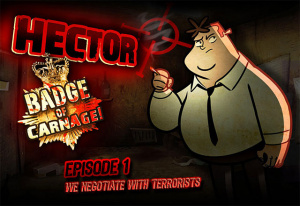Hector : Badge of Carnage - Episode 1 - We Negotiate With Terrorists sur iOS
