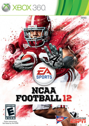 NCAA Football 12 sur 360