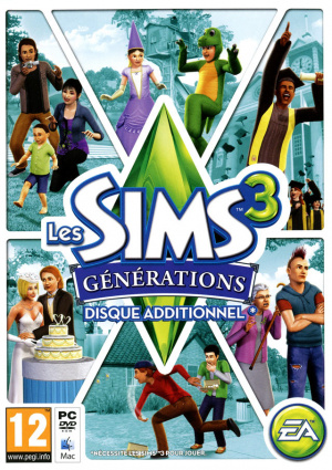 Les Sims 3 : Générations sur Mac