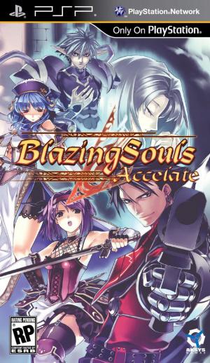 Blazing Souls Accelate sur PSP