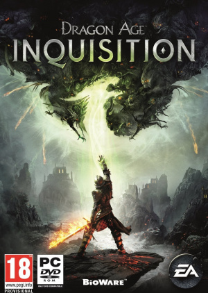 Jaquette de Dragon Age Inquisition