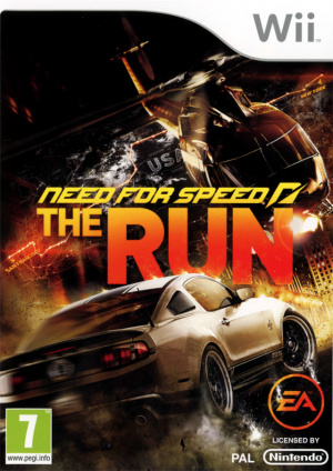 Need for Speed : The Run sur Wii