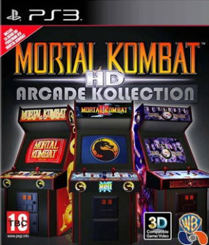 Mortal Kombat Arcade Kollection sur PS3