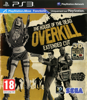 The House of the Dead : Overkill - Extended Cut sur PS3