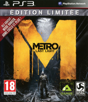 Metro : Last Light sur PS3