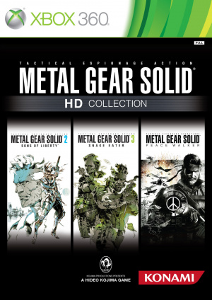 Metal Gear Solid HD Collection sur 360