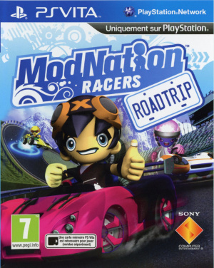 ModNation Racers : Road Trip sur Vita