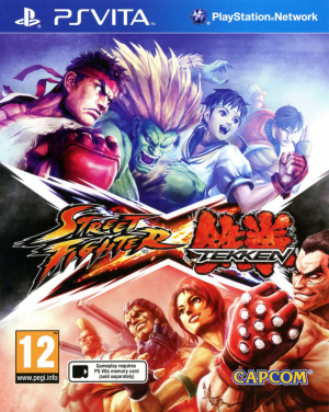 Street Fighter X Tekken sur Vita