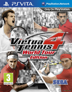 Virtua Tennis 4 : World Tour Edition sur Vita