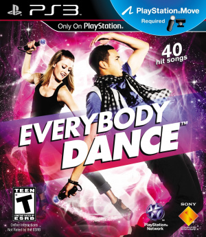 Everybody Dance sur PS3