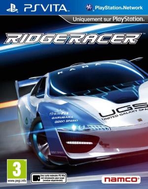 Ridge Racer sur Vita