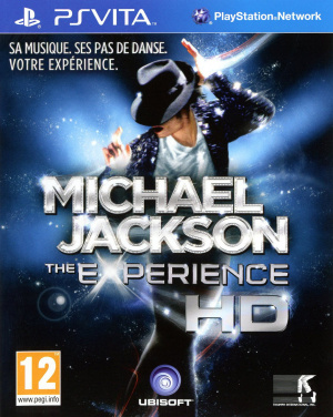 Michael Jackson : The Experience HD sur Vita