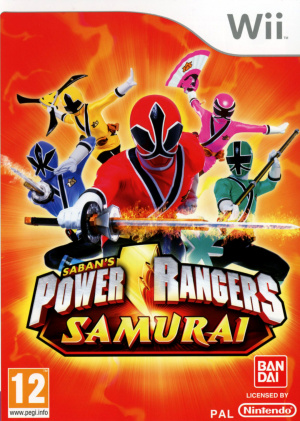 Power Rangers Samurai sur Wii