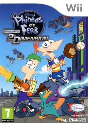 Phinéas et Ferb : Voyage dans la Deuxième Dimension sur Wii