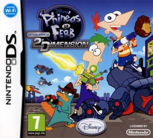 Phinéas et Ferb : Voyage dans la Deuxième Dimension sur DS
