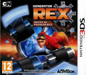 Generator Rex : Agent of Providence sur 3DS